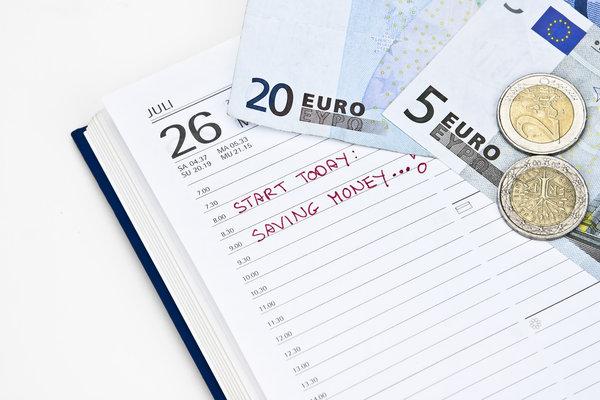 Haushaltsbuch für Geld sparen